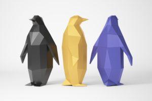 matala poly pingviini paperikoneille